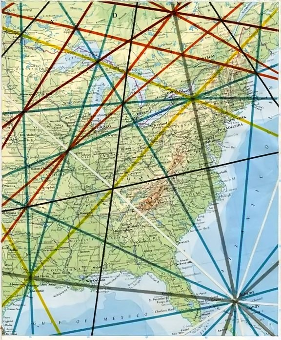 Ley Lines Ohio Map Woestenhoeve - Us-ley-lines-map